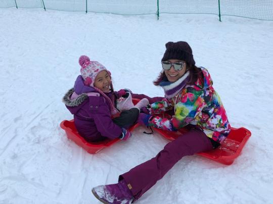 返嚟啦!與囡囡的北海道滑雪英姿