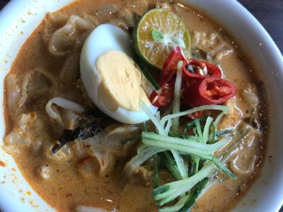 最有名的叻沙in Melaka