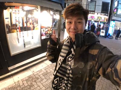 今晚陪阿Jar喺東京唱K!!!
