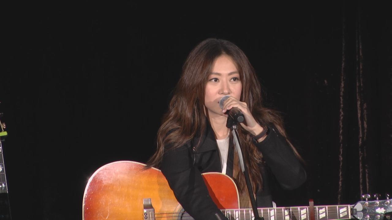 陳綺貞台北舉行音樂會 以結他與歌聲打動粉絲