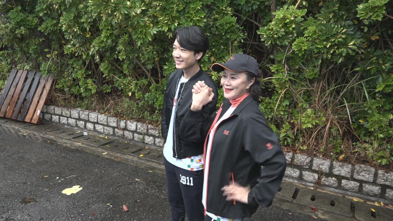 BabyJohn冒雨出席慈善跑活動 自爆最近身體欠佳