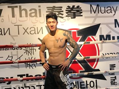 爆肌秘密: xBattle (泰拳) - 麥凱程 Alex Le Mak