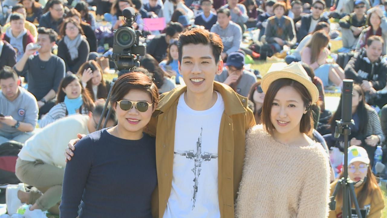 (國語)林奕匡舉辦戶外音樂會 邀師妹葉巧琳同台合唱