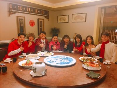 台灣新春辦年貨之青春辦桌團年飯