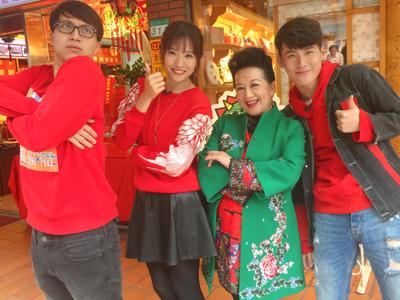 台灣新春辦年貨之迪化街舞