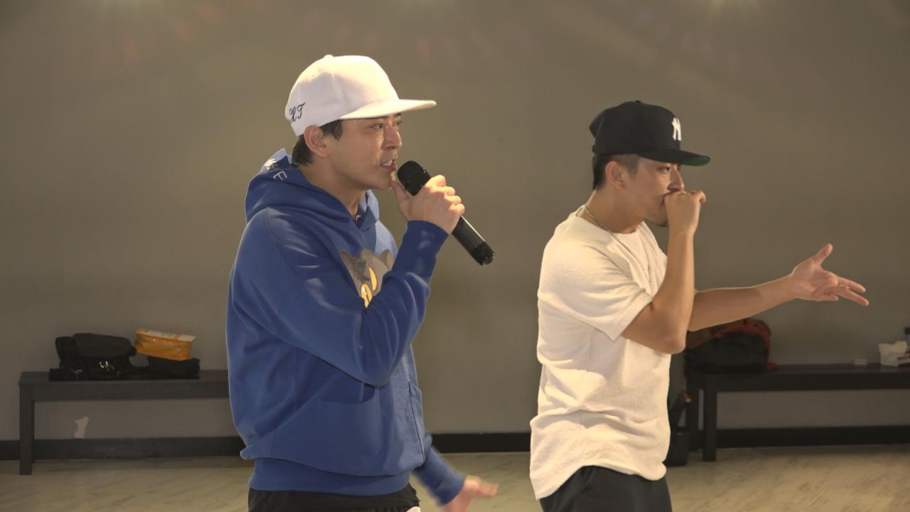 陳曉東為澳門演唱會努力排舞