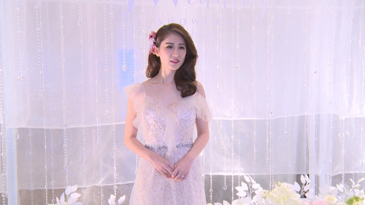 (國語)石詠莉再披嫁衣走秀 投訴無時間與老公見面