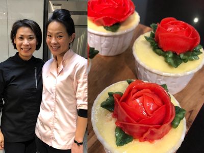 Chef Denice & Yosanna X 龍耳慈善烹飪班 3之 韓式唧花cupcake