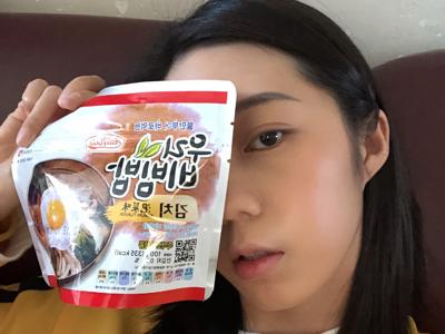 試食泡菜泡飯2