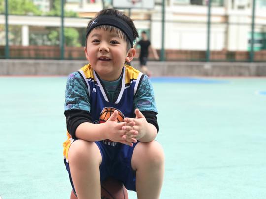 尚志BB Aaric - 打籃球都幾好玩吖!