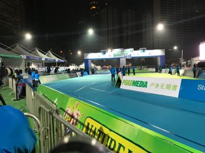 渣打香港馬拉松終點2 0600-0700