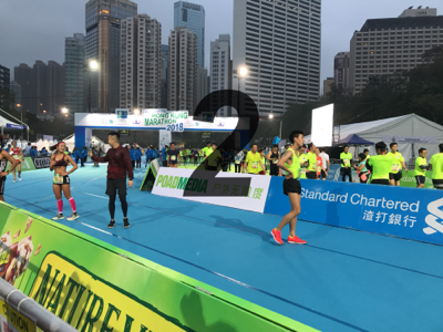 渣打香港馬拉松終點2 0800-0900