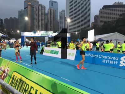 2018-01-21 渣打香港馬拉松C的直播