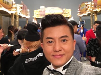 2018-01-21 衛志豪的直播頒獎典禮後台