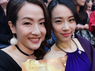 2018-01-21 大頭 梁珈詠 live  tvb show