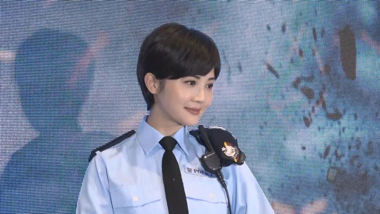 新劇飾演型格女警 蔡卓妍短髮造型上陣