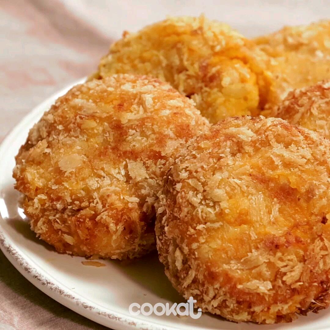[食左飯未呀 Cookat] 南瓜芝士餅