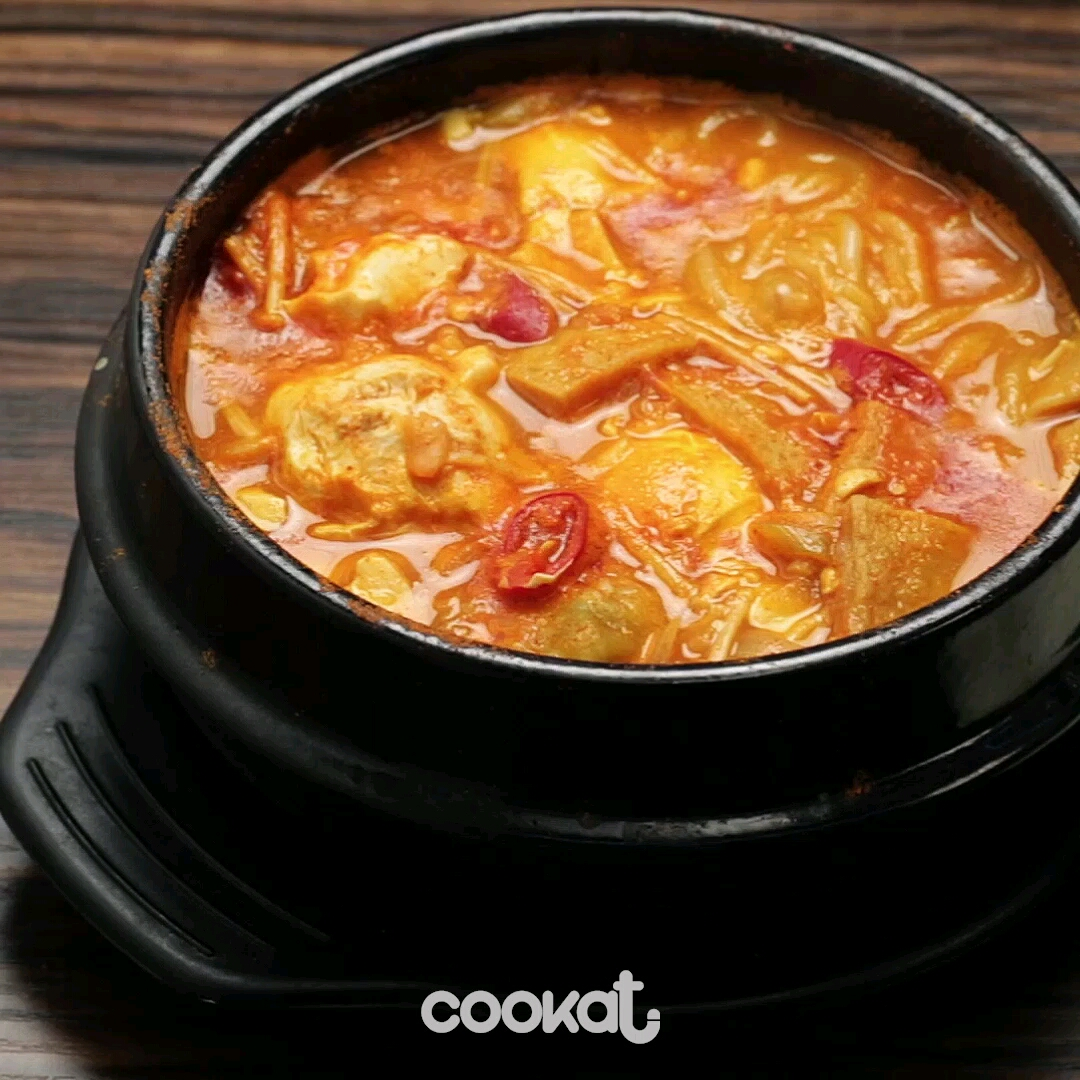 [食左飯未呀 Cookat] 純豆腐鍋