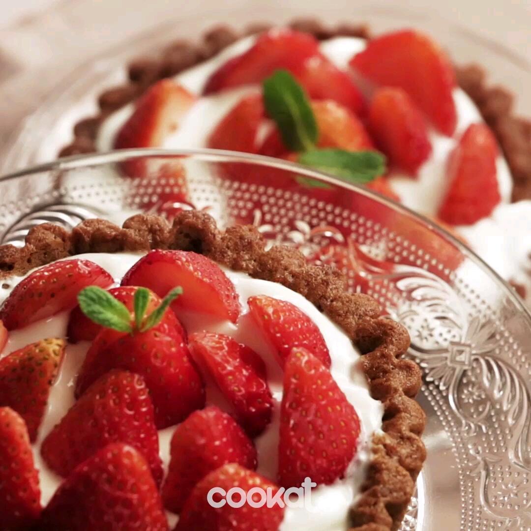 [食左飯未呀 Cookat] 士多啤梨撻