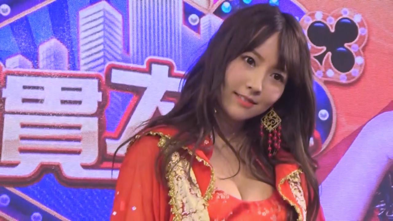三上悠亞出席台北電玩展 性感造型登場大跳熱舞