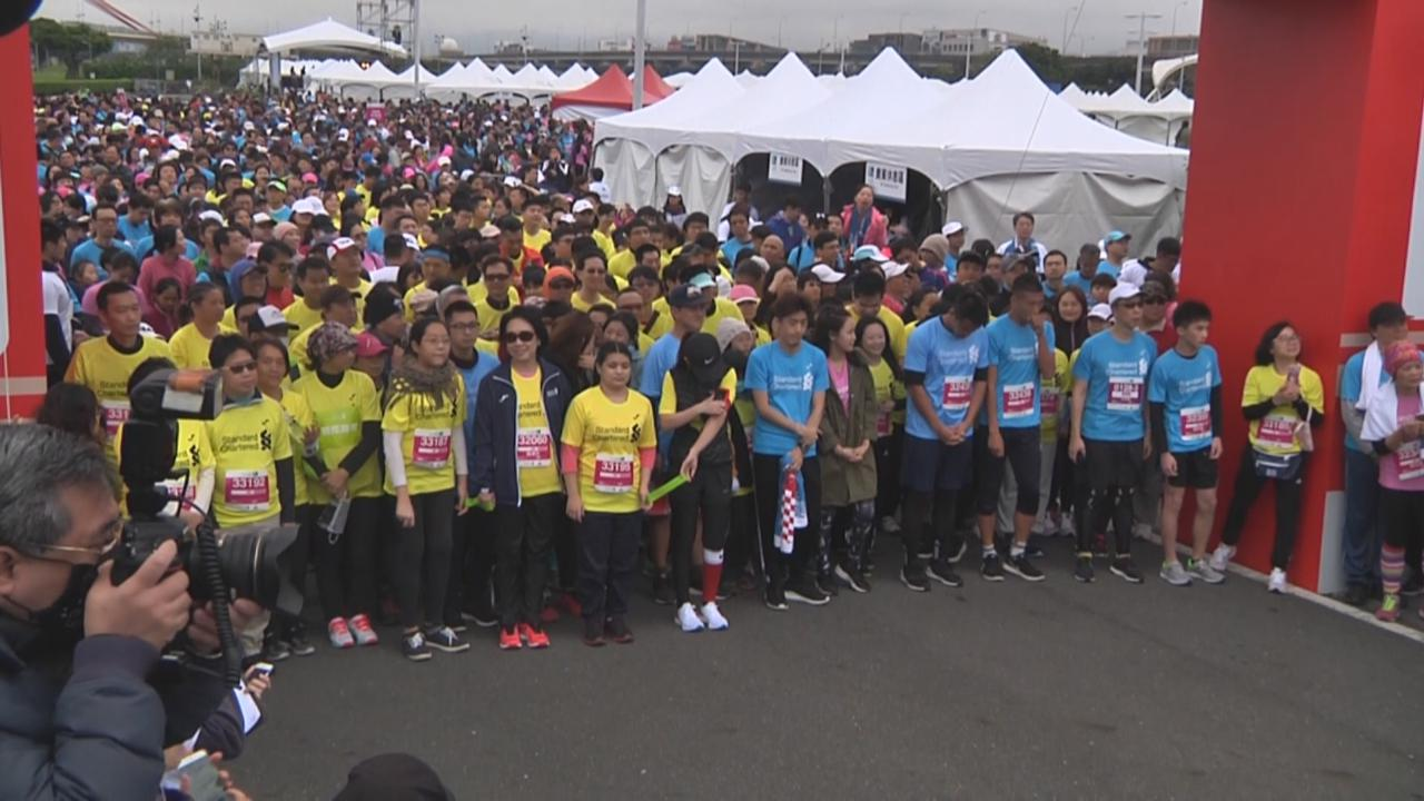 (國語)Selina化身陪跑員 助視障人士完成馬拉松