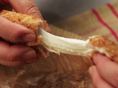 [食左飯未呀 Cookat] 雞肉芝士卷