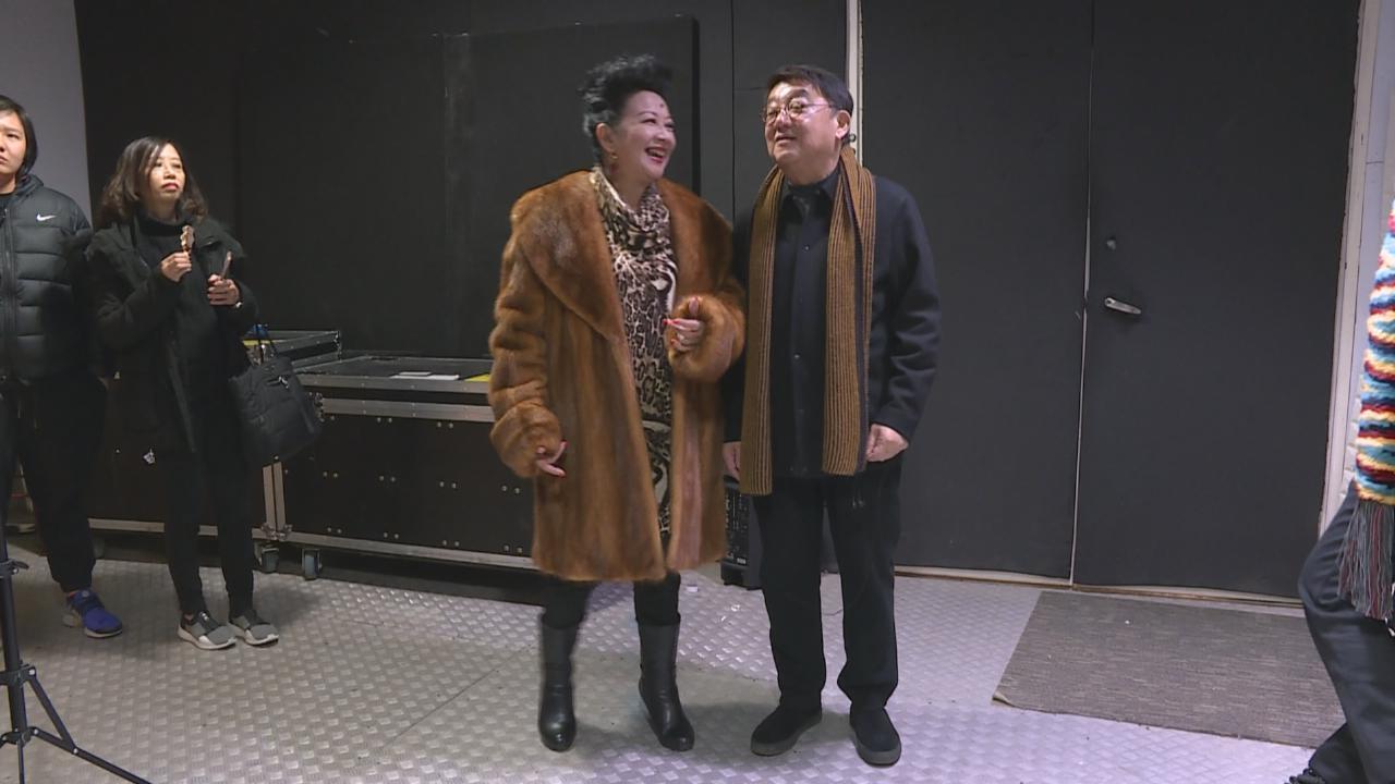 黎小田為作品演唱會綵排 家燕姐試唱梅姐金曲