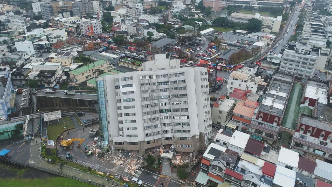 台灣花蓮地震傷亡慘重 各地藝人表達關心