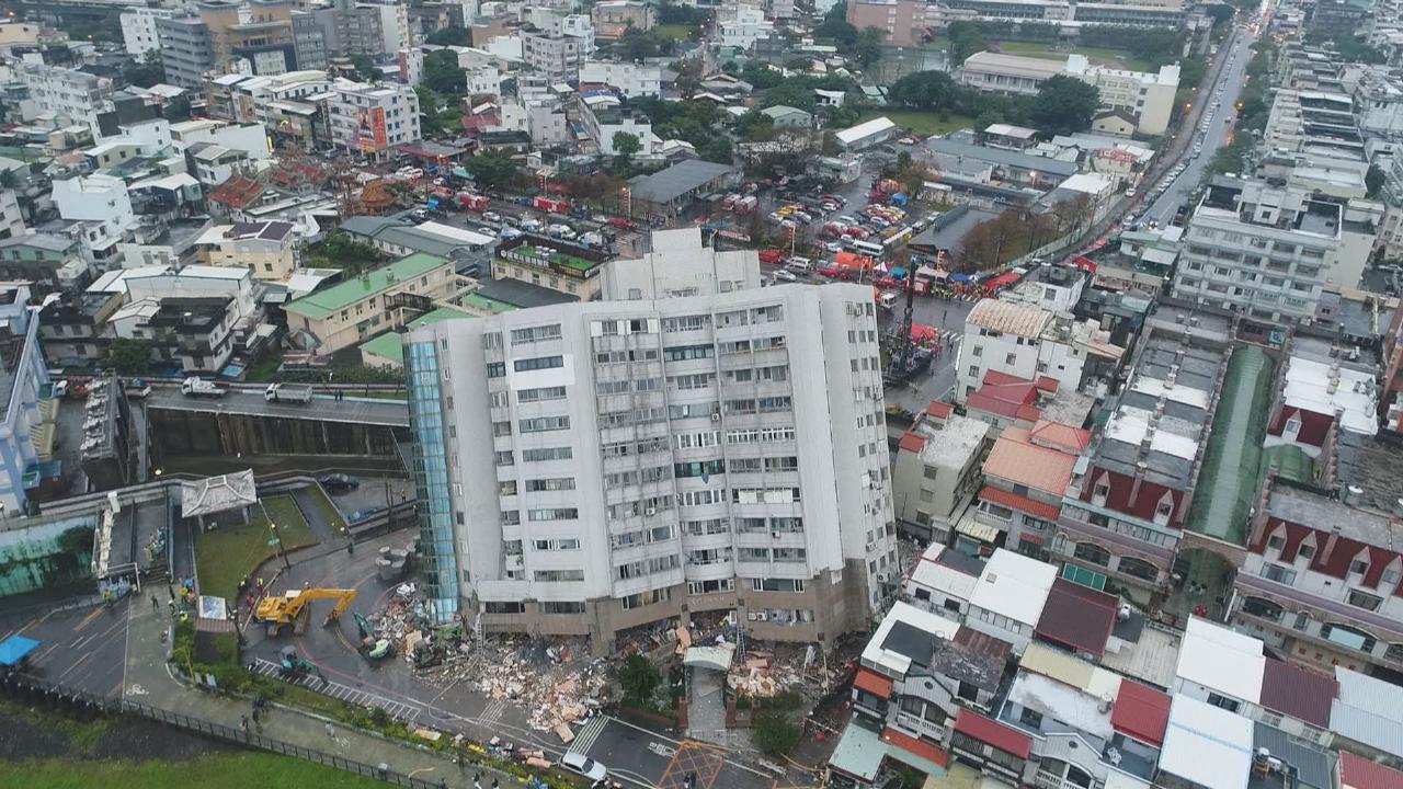 (國語)台灣花蓮發生地震 直擊災區情況