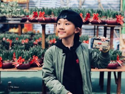 2018-02-10 餐蛋麵維園直播