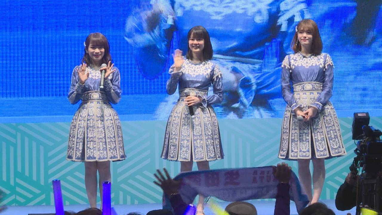 乃木坂46首次來港出席活動 以廣東話打招呼令台下尖叫