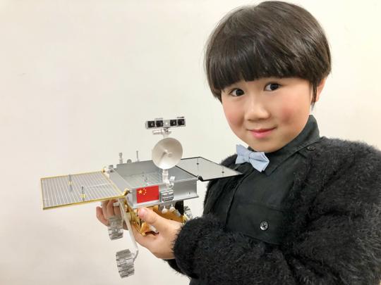 訪問中國航天火箭設計師何巍、容易