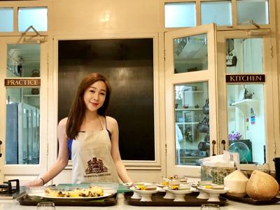 曼谷之旅: 第一次學煮泰菜???