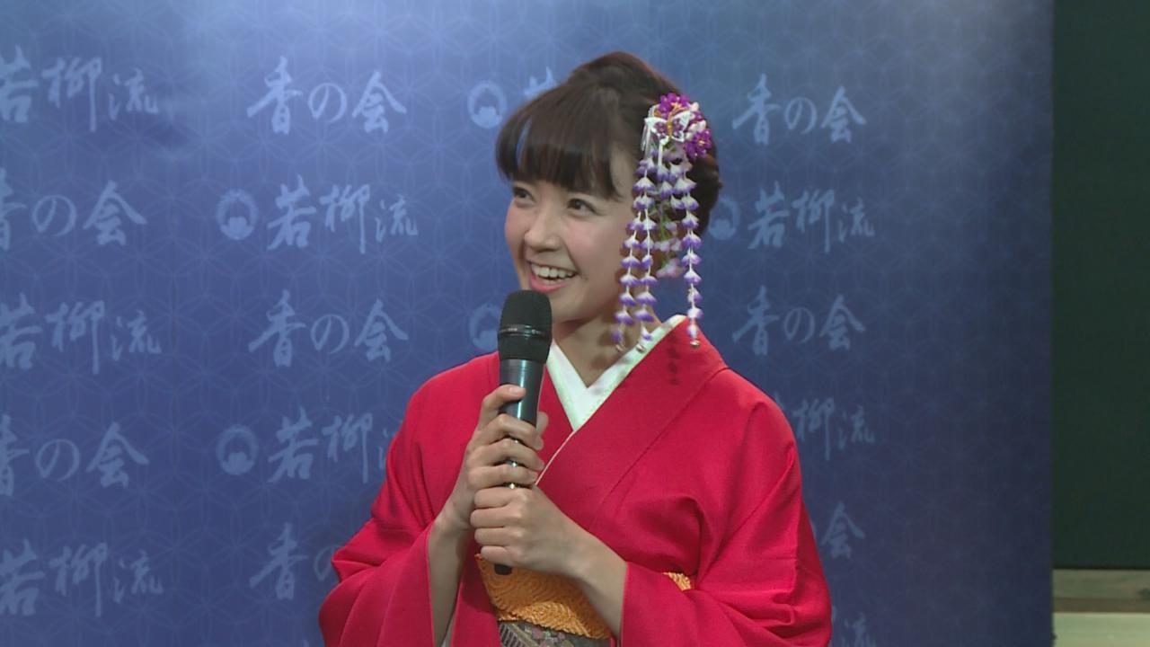 出席活動表演日本舞 糖妹分享箇中難度