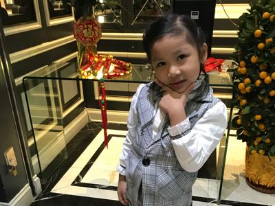 2018-02-16 Hailey Leung同大家拜年