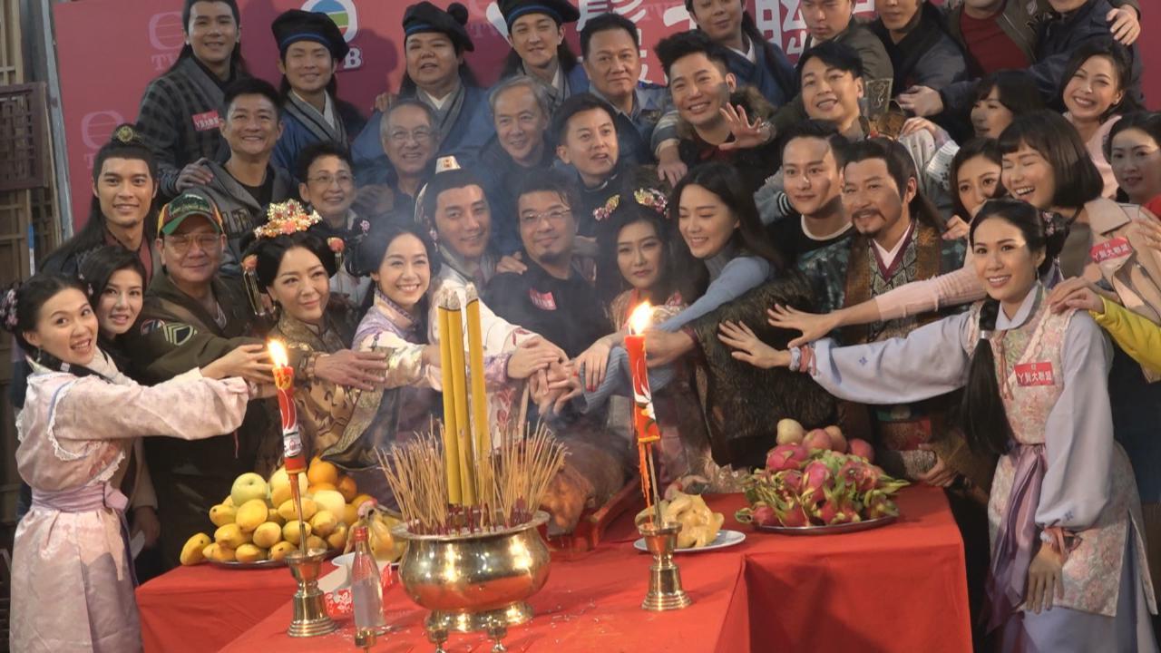 (國語)預告有機會與黃翠如再合作 洪永城出席新劇拜神儀式