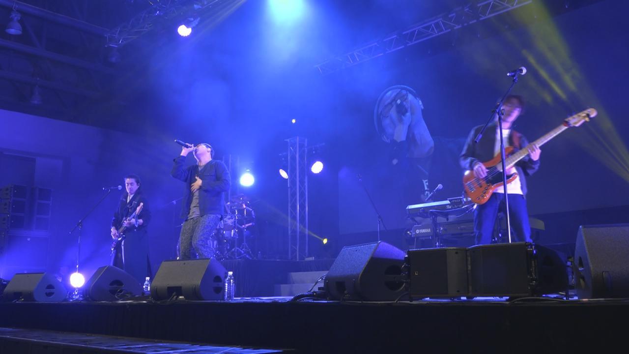 (國語)澳門舉行搖滾音樂會 眾樂隊投入獻唱