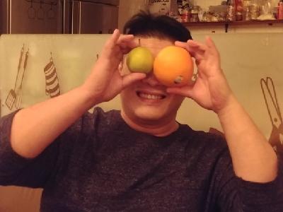 搣橙比賽冠軍都係我。???