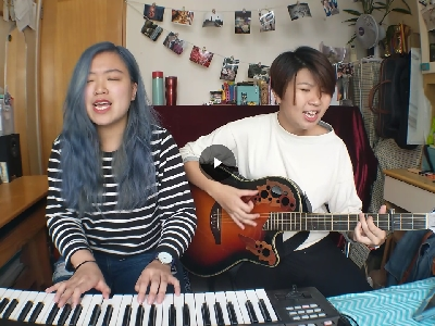 ONE REPUBLIC - APOLOGIZE (浠彤Heitung and Rachel @WharfTwo cover)