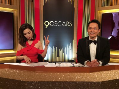 The Oscars Live with Sarah and Desmond