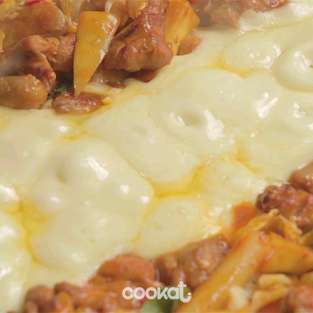 [食左飯未呀 Cookat] 炒雞肉配芝士