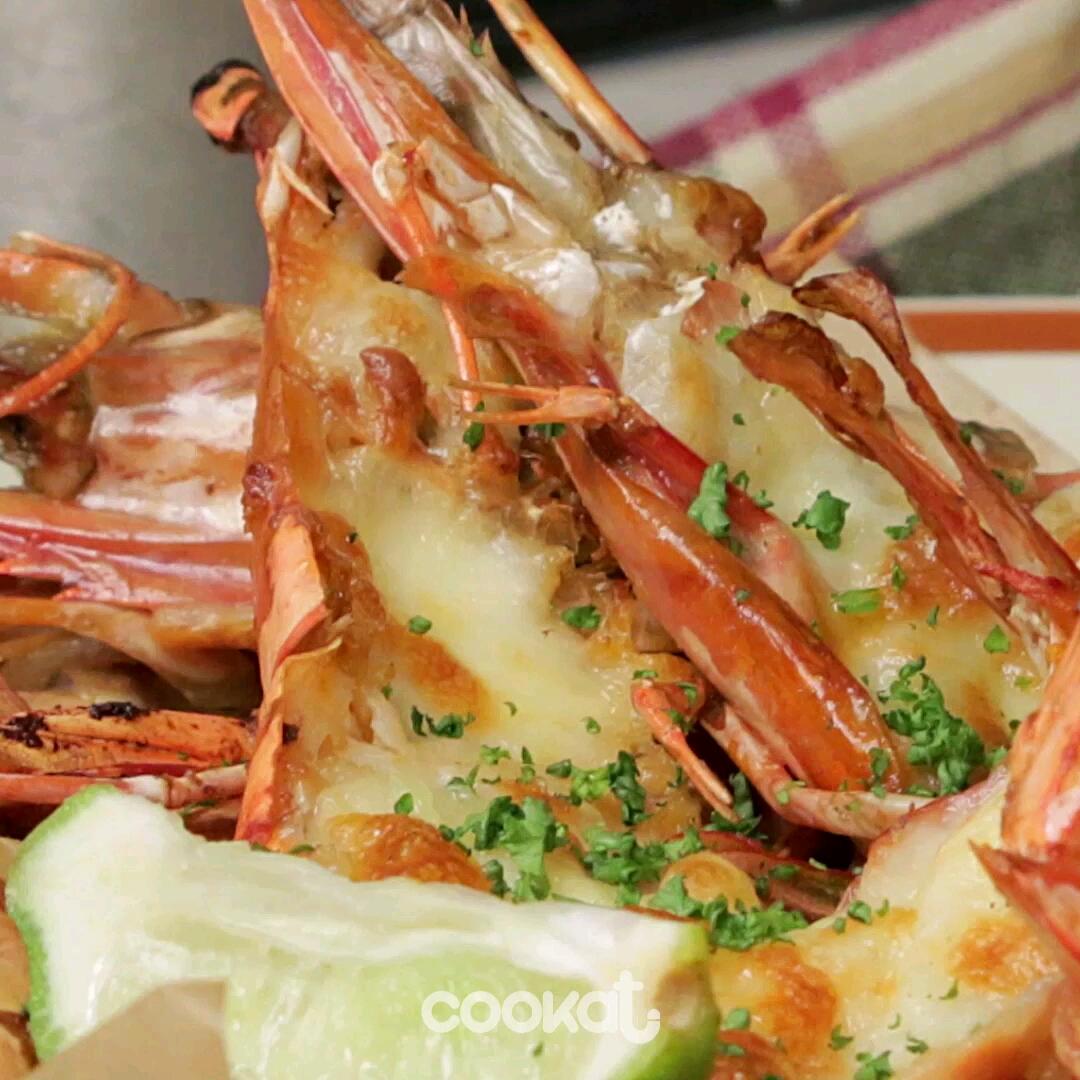 [食左飯未呀 Cookat] 蒜蓉牛油蝦
