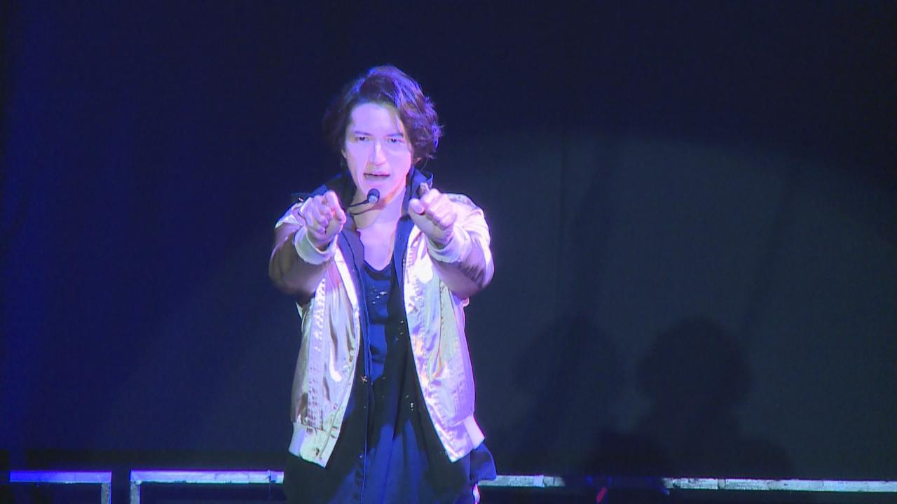 單飛後首次來港舉行見面會 田口淳之介台上大秀舞技
