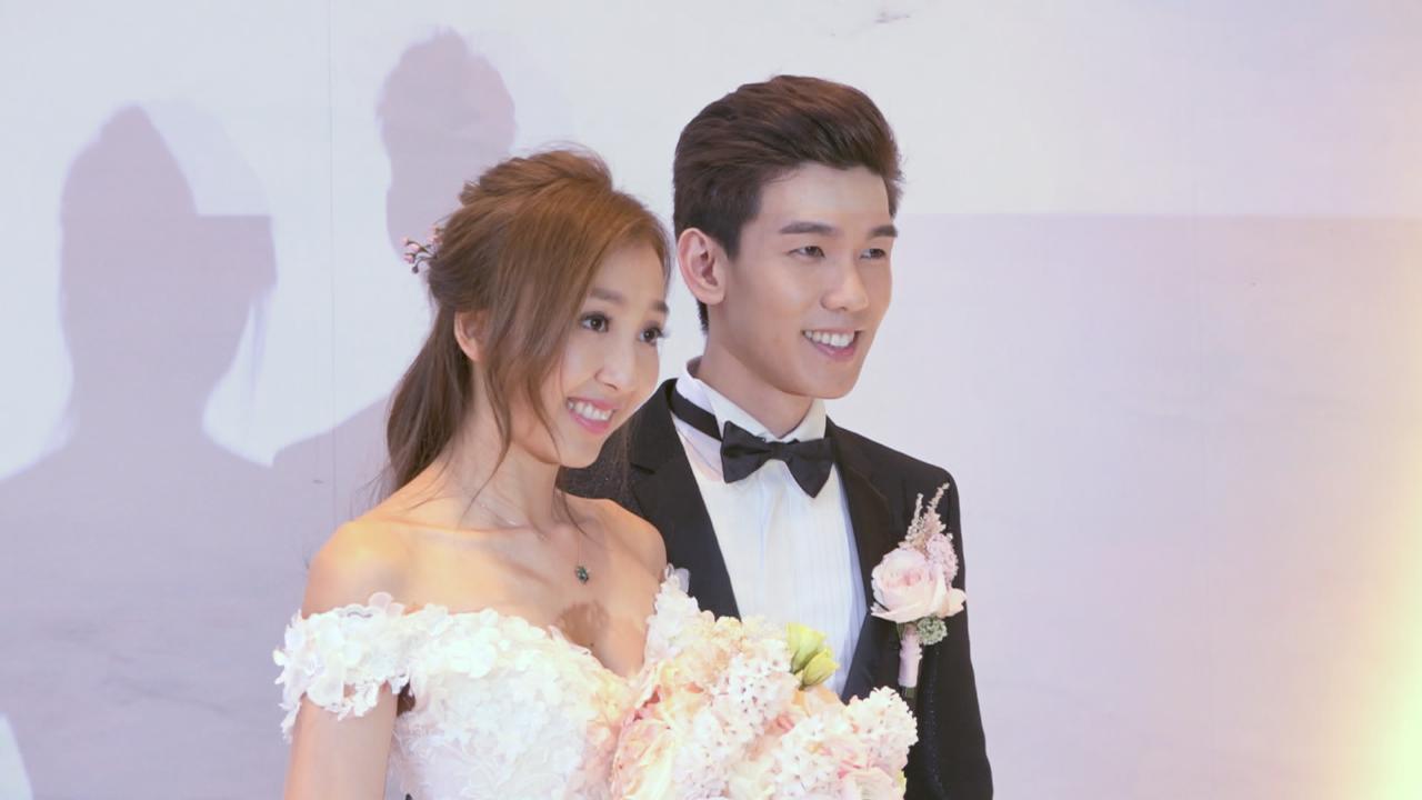 與太太香港補辦婚宴 林奕匡發表愛宣言