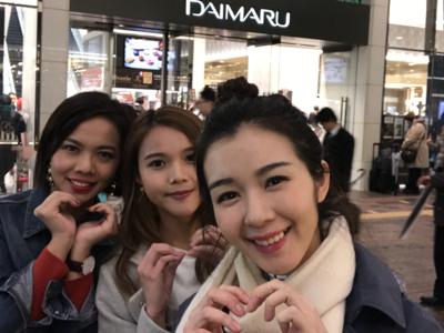 東京大丸百貨白色情人節突擊放送