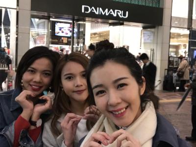 東京大丸百貨白色情人節突擊放送 part 2