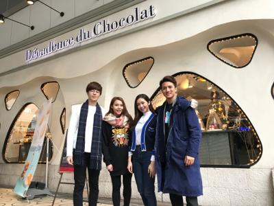 銀座Decadence du Chocolat白色情人節突擊放送!