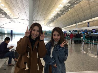 柏豪Hana家燕姐起程去新加坡呀(2)