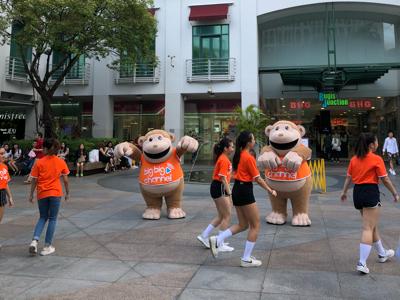 周奕瑋 在新加坡