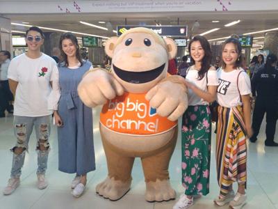 張寶兒 bigbigchannel登陸新加坡